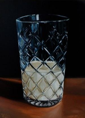 Szymon Kurpiewski (ur. 1984), Ryflowana szklanka mleka, 2020