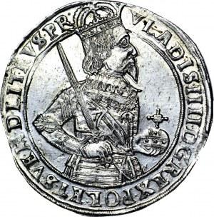 Władysław IV Waza, Talar Toruń 1633, najładniejszy znany, MENNICZY, WYŚMIENITY