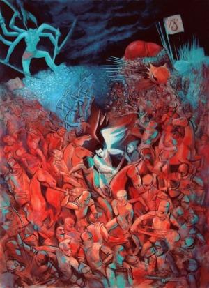 Juliusz Lewandowski, Wojna piekła z niebem, 2016