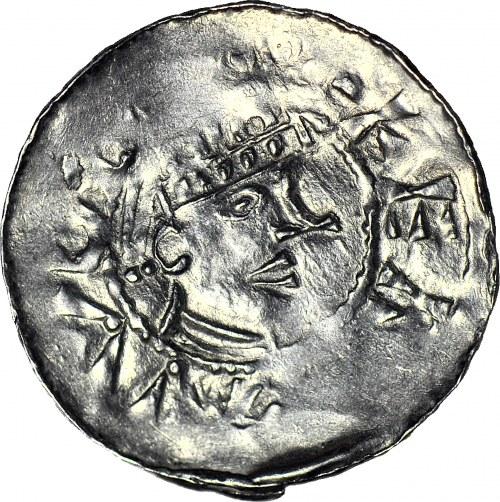 Niemcy, Esslingen, Henryk II 1002-1024, denar