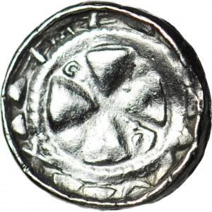RR-, Denar krzyżowy XIw, dwa małe PASTORAŁY