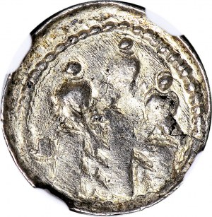 Bolesław Śmiały 1058-1079, Denar, typ królewski, litera Z za głową