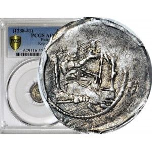 RR-, Henryk II Pobożny 1238-1241, Denar Głogów
