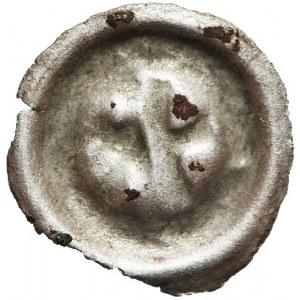 Śląsk, Bernard ok. 1400-1455 lub Mikołaj I 1439-1476, Brakteat, Opole, R3