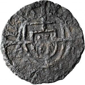 RR-, Zakon Krzyżacki, Konrad von Erlichshausen 1441–1449, Szeląg, fałszerstwo z epoki