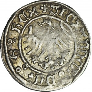 RR-, Aleksander Jagiellończyk, Półgrosz, Kraków, ozdobne punce liter