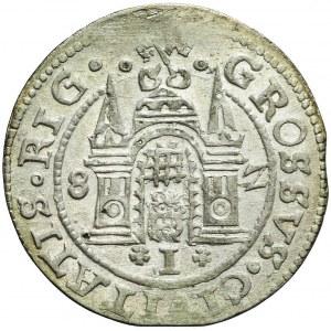 R-, Stefan Batory, Grosz 1582 Ryga, bardzo ładny