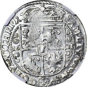 Zygmunt III Waza, Ort 1621, Bydgoszcz, MENNICZY