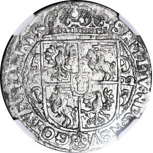 Zygmunt III Waza, Ort 1622, Bydgoszcz, PRV.M, piękny
