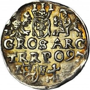 Zygmunt III Waza, Trojak Lublin 1597, menniczy