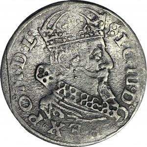 RR-, Zygmunt III Waza, Grosz 1627, Wilno, GORISS
