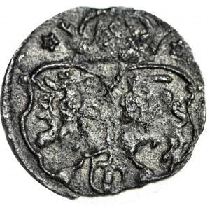 RRR-, Zygmunt III Waza, Denar 1622, Kraków, pełna data, R7