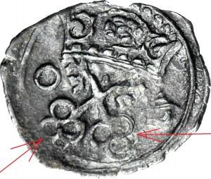 RRR-, Zygmunt III Waza, denar Poznań 1603 NIENOTOWANY TYP KLUCZY, drugi znany egzemplarz