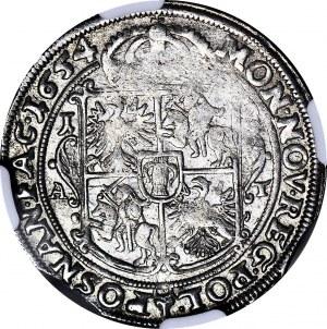 Jan II Kazimierz, Ort 1654 AT, Poznań, piękny