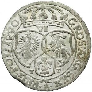 Jan Kazimierz, Szóstak 1660, Bydgoszcz, piękny