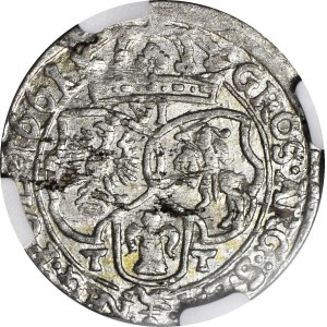 Jan II Kazimierz, Szóstak Bydgoszcz 1661 TT, ładny