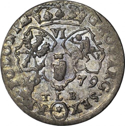 RR-, Jan III Sobieski, Szóstak 1679, Bydgoszcz, TLB pod datą, ex Mękicki
