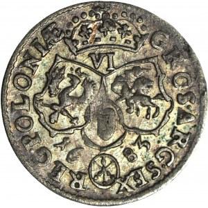 Jan III Sobieski, Szóstak 1683 TLB, Bydgoszcz, piękny