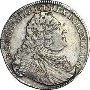R-, August III Sas, 2/3 talara 1750, Drezno, rzadki