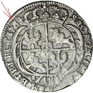 RRR-, August III Sas, Ort 1761/54, przebitka daty, nienotowane