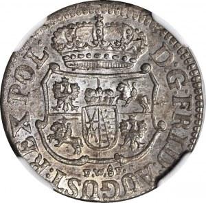 August III Sas, 1/24 talara 1753 FWóF, Drezno, mennicze