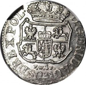August III Sas, 1/24 talara 1754 FWóF, Drezno, mennicze