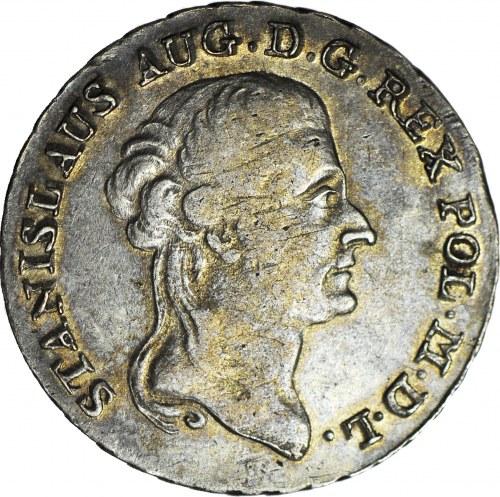 Stanisław A. Poniatowski, Dwuzłotówka 1787 EB, Warszawa
