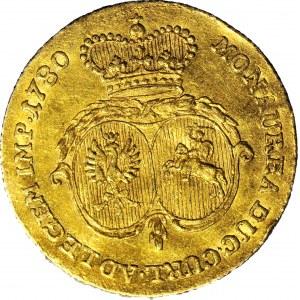 RR-, Kurlandia, Piotr Biron, Dukat 1780, Mitawa, R4