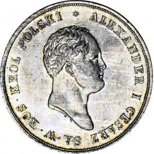RR-, Królestwo Polskie, Aleksander I, 10 złotych 1821, Warszawa, PIĘKNY