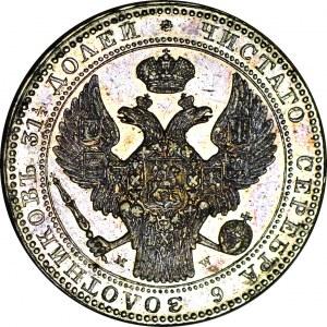 R-, Królestwo Polskie, Mikołaj I, 10 złotych 1837 MW, Warszawa, piękne