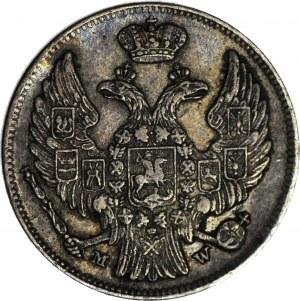 Królestwo Polskie, 1 złoty = 15 kopiejek 1839, Warszawa