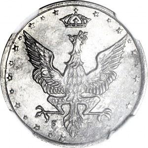 RR-, Królestwo Polskie, 10 fenigów 1917, LUSTRZANE