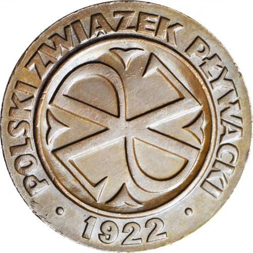 Medal, Polski Związek Pływacki 1922