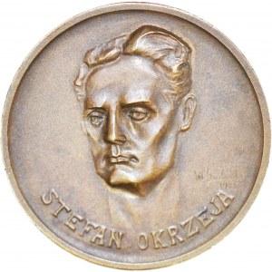 II Rzeczpospolita, medal na 20 rocznicę śmierci Stefana Okrzei, 1925 rok, brąz