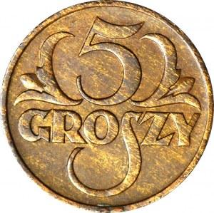 5 groszy 1936, piękne