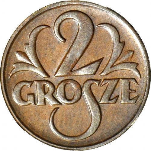 2 grosze 1927, mennicze