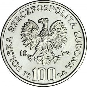 100 złotych 1979, PRÓBA nikiel, Henryk Wieniawski