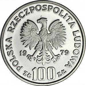 100 złotych 1979, PRÓBA nikiel, Ludwik Zamenhof