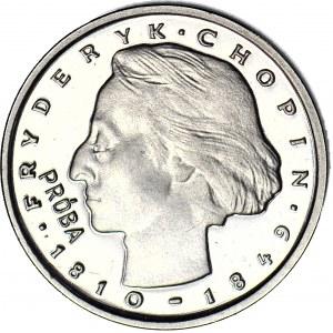 2000 złotych 1977, PRÓBA, nikiel, Fryderyk Chopin