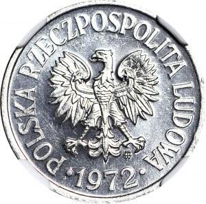 RR-, 20 groszy 1972, bardzo rzadkie w PL, PROOFLIKE