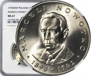 20 złotych 1976, Nowotko, ze znakiem, menniczy