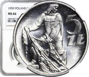 5 złotych 1959, Rybak, WYŚMIENITY