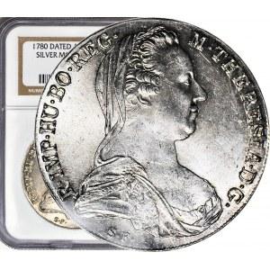 Austria, Talar 1780, Restrike, menniczy
