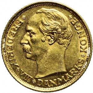 Dania, 10 Koron 1908, Fryderyk VIII