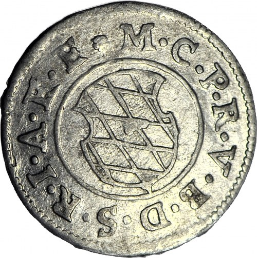 Niemcy, Bawaria (Bayern) Maksymilian I (elektor), 2 krajcary 1624