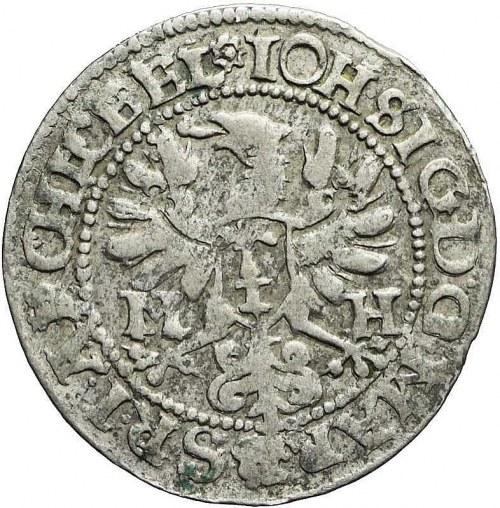 Niemcy, Brandenburgia-Prusy, Jan Zygmunt, grosz (1/24 talara), 1615 M-H, bardzo rzadki