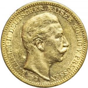 Niemcy, Prusy, 20 marek 1897, Wilhelm II, Berlin