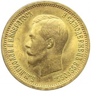 Rosja, Mikołaj II, 10 rubli 1898 АГ, Petersburg, mennicze