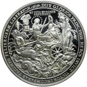 Szwecja, Replika Medalu Sebastiana Dadlera z 1634 na pamiątkę śmierci Gustawa Adolfa
