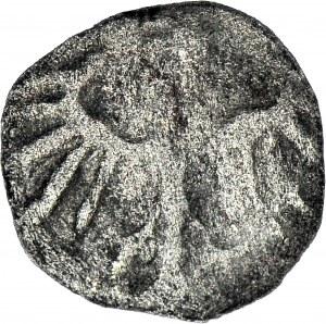 R-, Kazimierz Jagiellończyk 1427-1492, denar jednostronny, orzeł